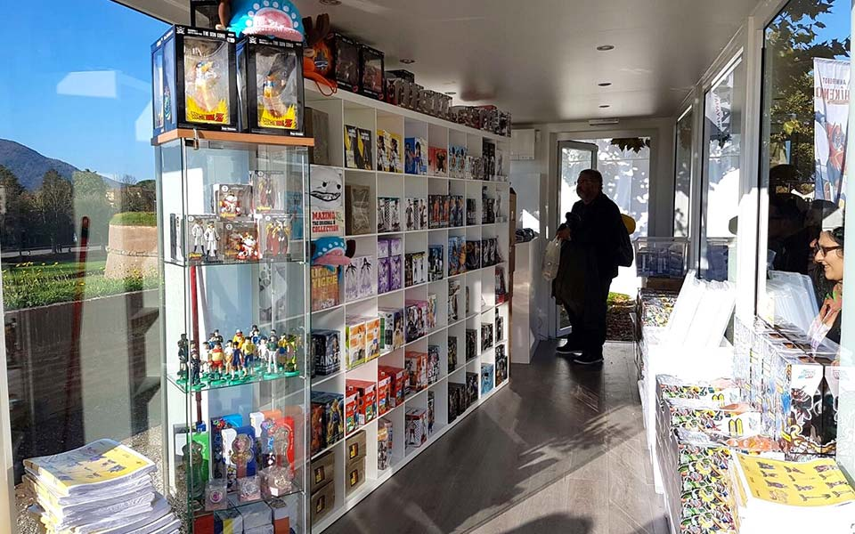 Temporary Store Yamato Video Lucca Comics